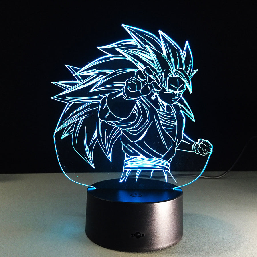 Dragon Ball Z <br>Goku Super Saiyan 3 Lamp