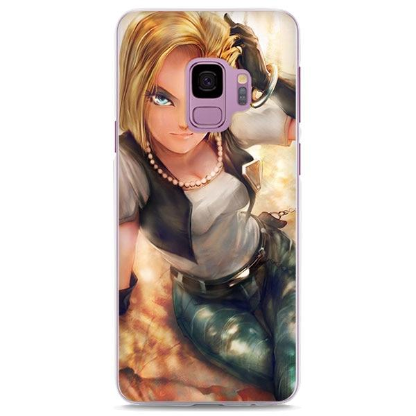 Dragon Ball Z <br> Android 18 Samsung Case