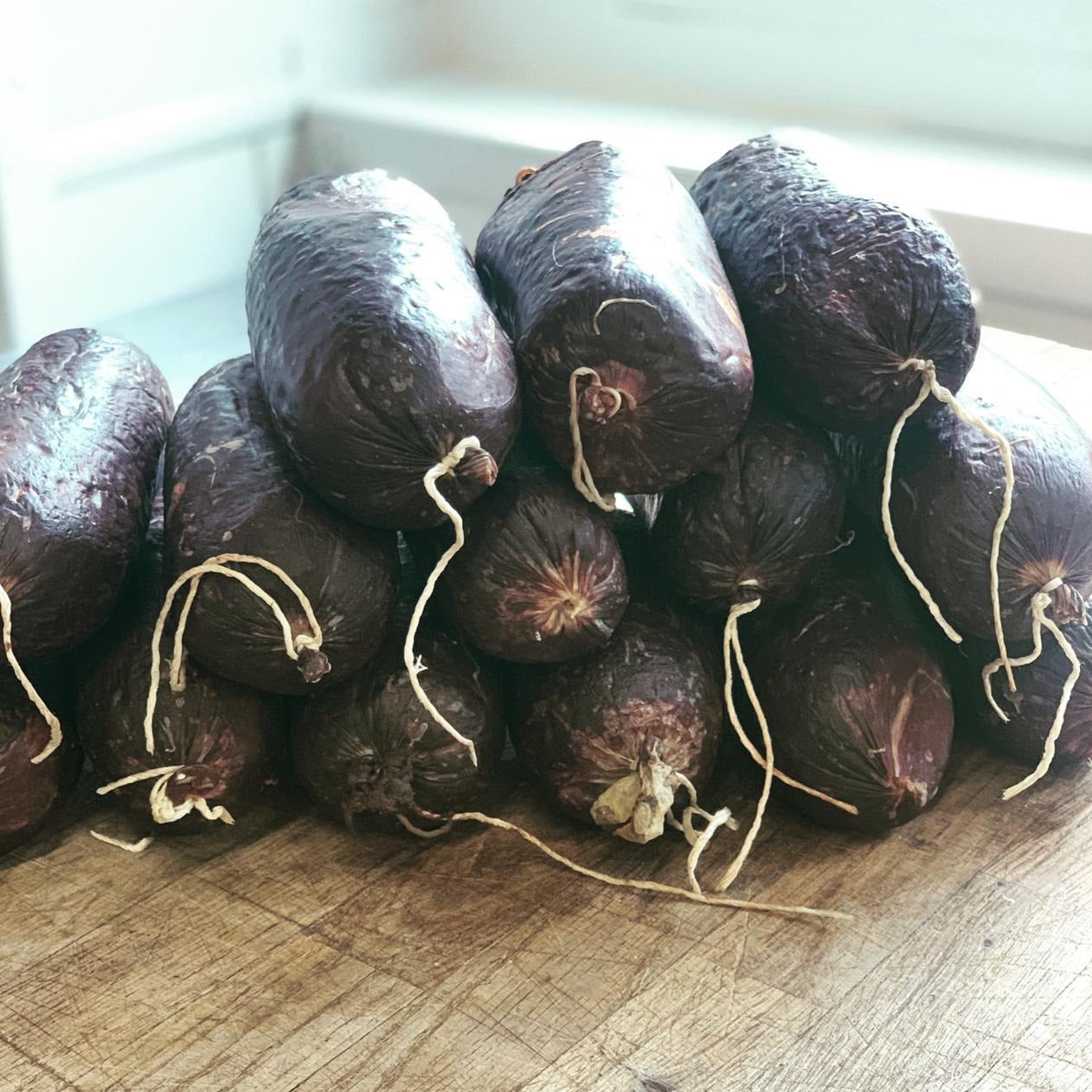 Black Pudding - The Fat Pig Farm