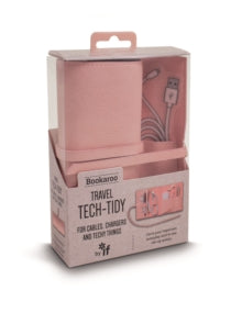Travel Tech Tidy Pink