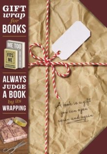Gift wrap for books Brown paper parcel