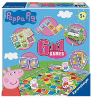 Peppa Pig 6 in 1 games