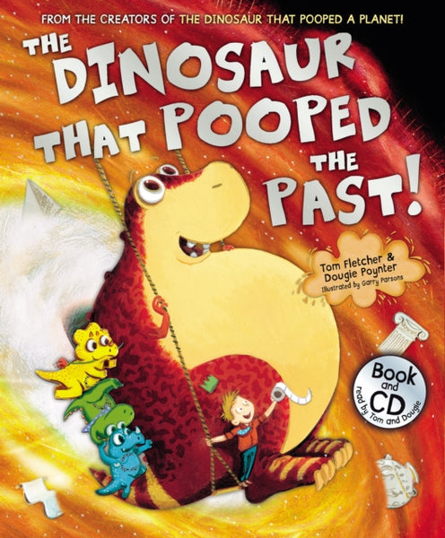 the dinosaur that pooped the past cd