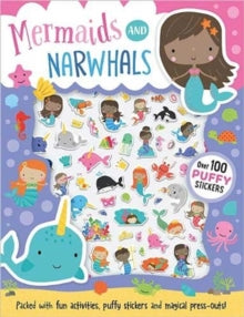 Mermaids And Narwhals Stickers