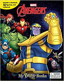 Marvel Avengers My Busy Book Board book