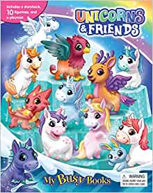 Unicorns & Friends My Busy Book