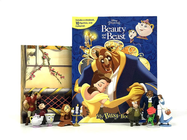 Disney Beauty and the Beast My Busy Book Board book