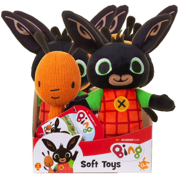Bing Bunny - Bing and Flop Soft Toys Assorted
