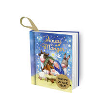 Away In A Manger Mini Book