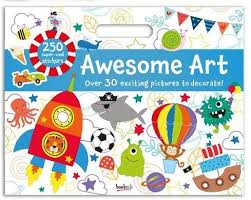 Awesome Art Giant Activity Pad