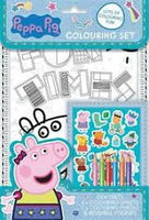 Peppa Pig Colouring Activity Set