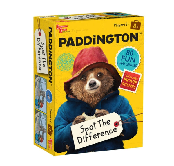 Paddington Bear Spot The Difference Game