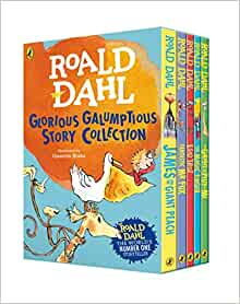 Roald Dahl Glorious Galumptious Story Collection