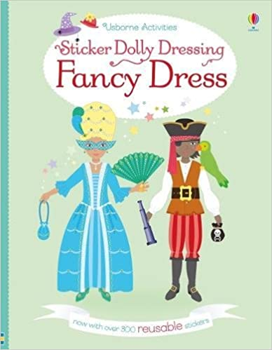 Sticker Dolly Dressing Fancy Dress