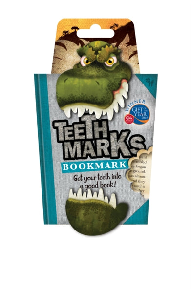 TeethMarks Bookmarks - T-Rex