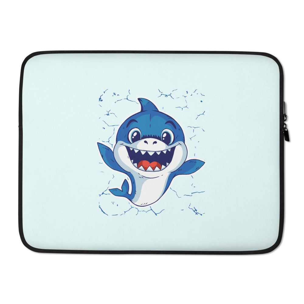 Baby Shark Graphic Laptop Sleeve - Gazzli