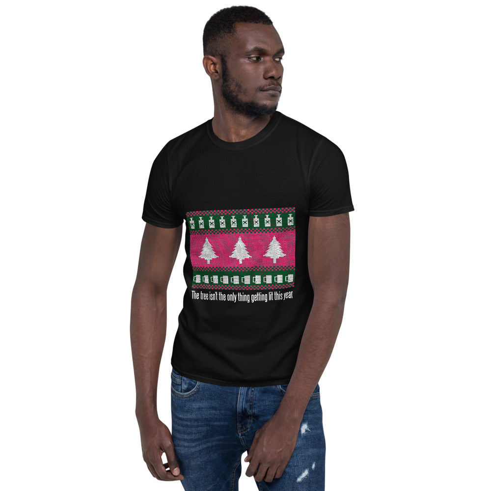 Lit Christmas Graphic Tee - Gazzli