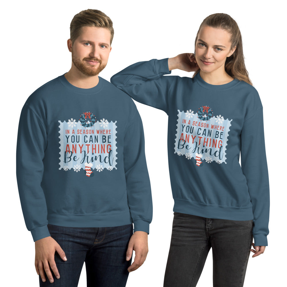 Christmas Graphic Crew Neck Sweatshirt - Gazzli