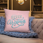 Merry Christmas Graphic Pillow - Gazzli