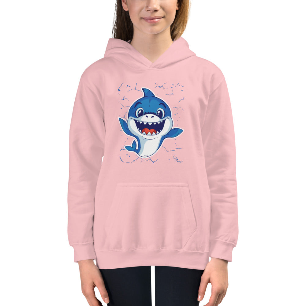 Baby Shark Graphic Hoodie - Youth - Gazzli