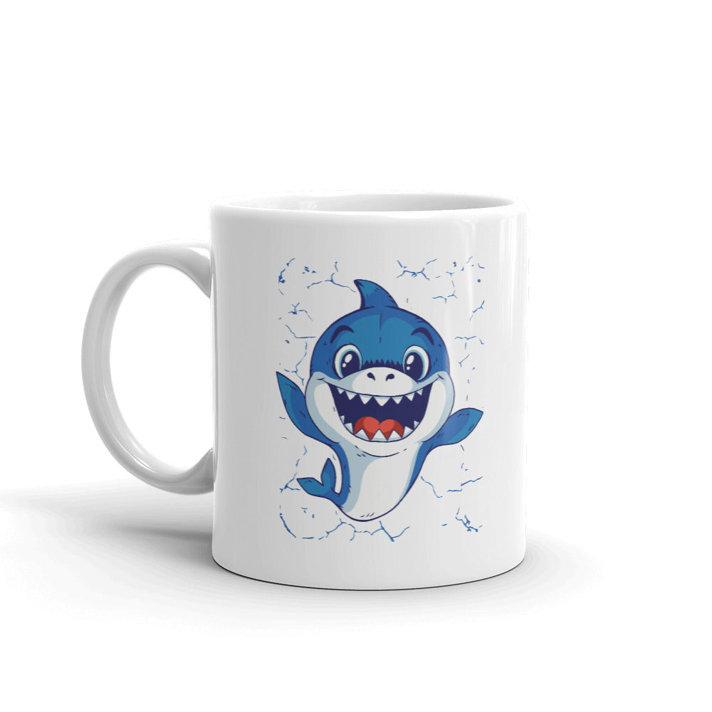 Baby Shark Graphic Mug - Gazzli