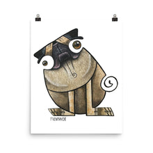 Load image into Gallery viewer, PUG DOG Poster