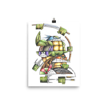 Load image into Gallery viewer, NINJA TURTLES Poster
