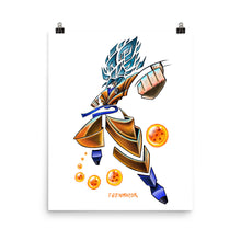 Load image into Gallery viewer, GOKU BLUE Poster