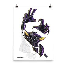 Load image into Gallery viewer, Black panther Poster