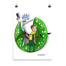 Load image into Gallery viewer, RICK & MORTY Poster