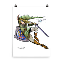 Load image into Gallery viewer, LINK ZELDA Poster