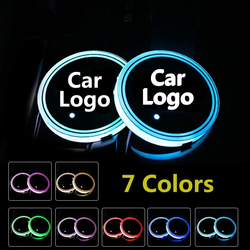 Car LED Cup Holder