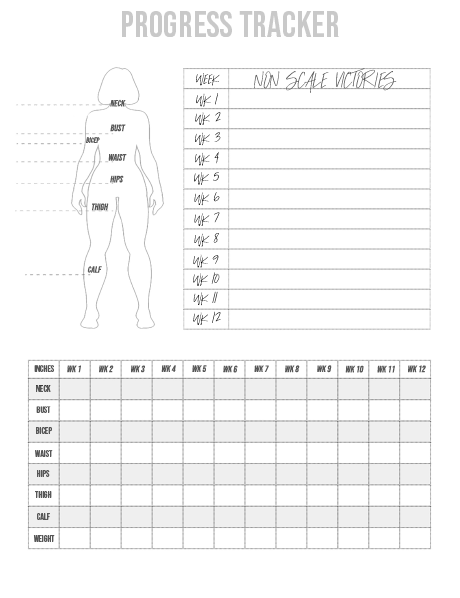 Women's Progress Tracker