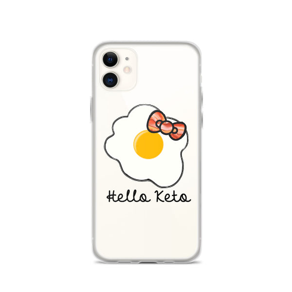 HELLO KETO iPhone Case