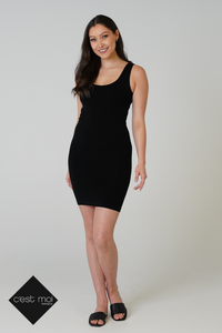 C'EST MOI BAMBOO SLIP DRESS - 1 COLOUR