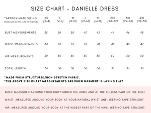 DANIELLE DRESS - 5 COLOURS