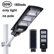 SolarMax - 3200 Lumens - 60W - 120LED Solar Street Light - Cosmas Collections