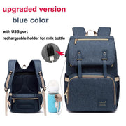 Kaylee USB Diaper Backpack Bag - Cosmas Collections