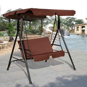Loveseat Patio Canopy Swing Glider Hammock - Cosmas Collections