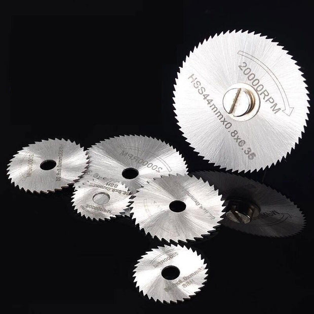 SharpCut Disc Drill Blades 6Pcs Set - Cosmas Collections