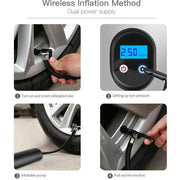 The Smart Mini Tire Inflator - Cosmas Collections