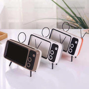 Retro TV Bluetooth Speaker Mobile Phone Holder - Cosmas Collections