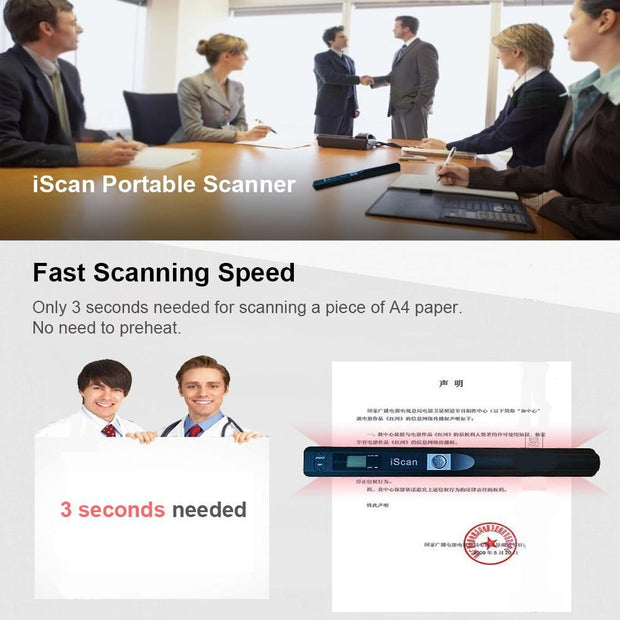 iScan Instant Portable Scanner - Cosmas Collections