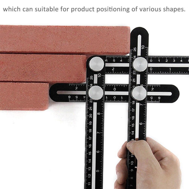 Multi-Angle Measurement Ruler - Cosmas Collections