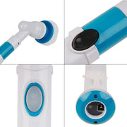 Electric Power Cleaning Scrubber With Extension Handle - Cosmas Collections