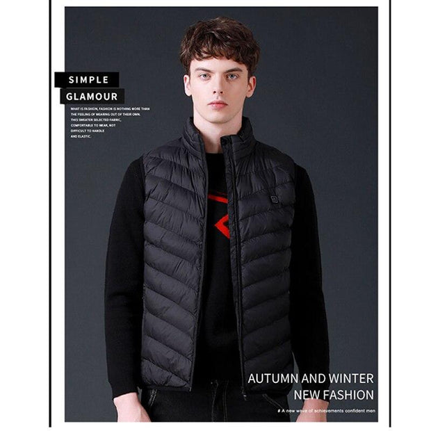 Unisex Warming Heated Vest - Cosmas Collections