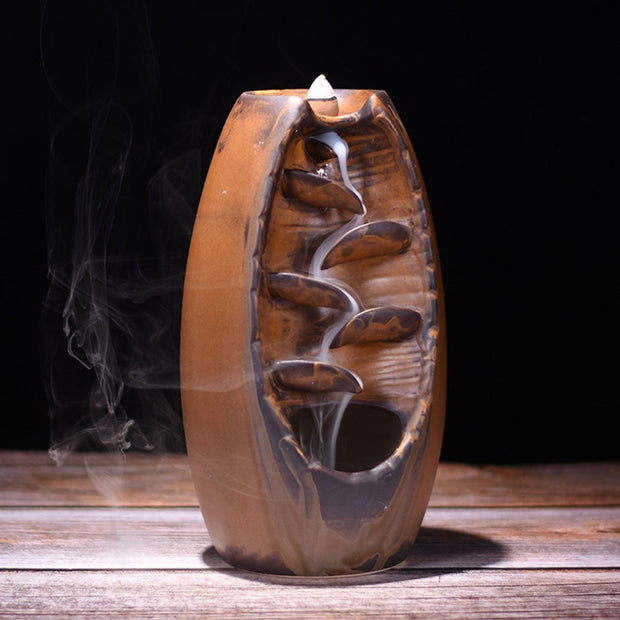 Mountain River Handicraft Incense Holder - Cosmas Collections