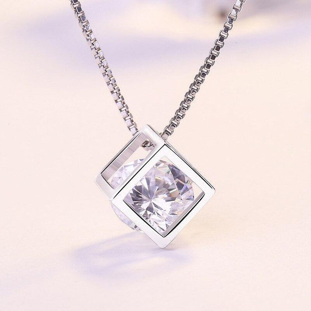 Elegant Square Necklace - Cosmas Collections