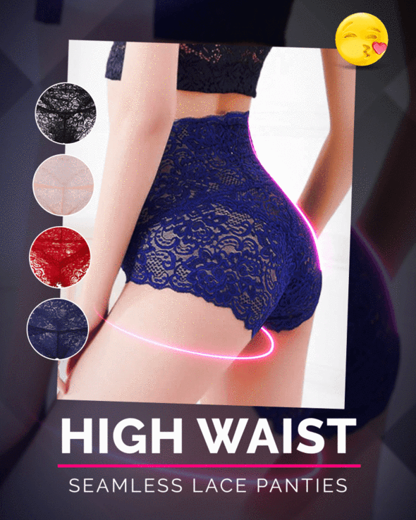 Seamless Lace Panty - Cosmas Collections