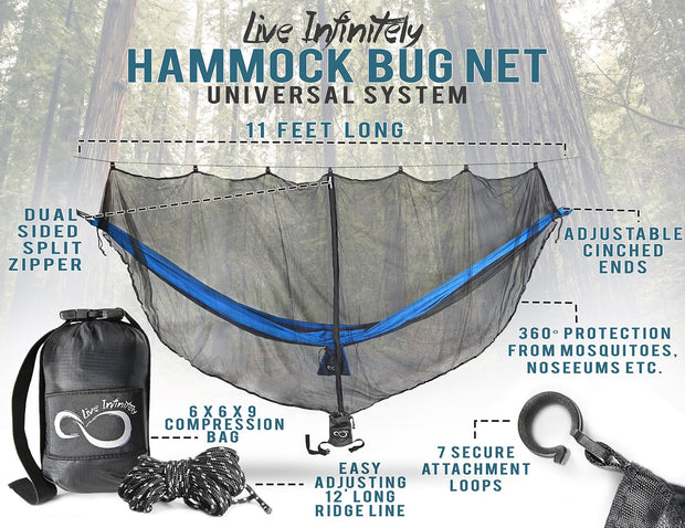 Universal Mosquito Bug Net for Hammock - Cosmas Collections